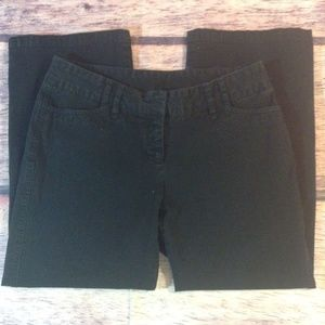 Express Women's Capris Size 5/6 Black Crop Pants